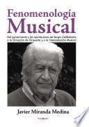 Libro de Fenomenología Musical