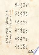 Libro de Letras Para Canciones Y Otroas Al Landalvs