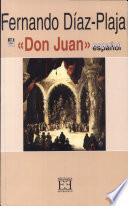 Libro de El «don Juan» Español