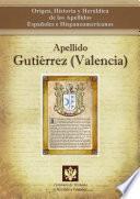 Libro de Apellido Gutiérrez (valencia)