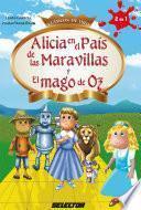Libro de Alicia En El País De Las Maravillas Y El Mago De Oz