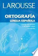 Libro de Ortografía Lengua Española