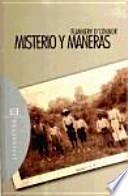 Libro de Misterio Y Maneras