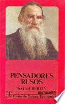 Libro de Pensadores Rusos