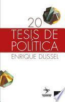 Libro de 20 Tesis De Política