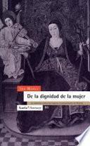 Libro de De La Dignidad De La Mujer