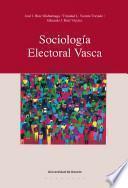 Libro de Sociología Electoral Vasca