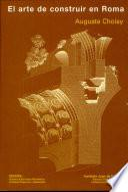 Libro de El Arte De Construir En Roma