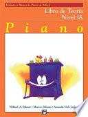 Libro de Alfred S Basic Piano Course: Spanish Edition Theory Book 1a