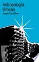 Libro de Antropología Urbana