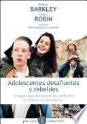 Libro de Adolescentes Desafiantes Y Rebeldes