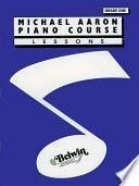 Libro de Michael Aaron Piano Course: Lessons, Grade 1