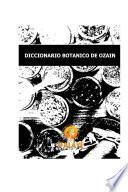 Libro de Diccionario Botanico De Ozain