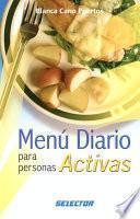 Libro de Menú Diario Para Personas Activas