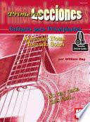 Libro de First Lessons Beginning Guitar