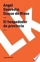 Libro de El Hospedador De Provincia