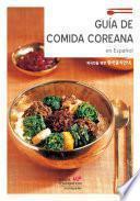 Libro de Guía De Comída Coreana