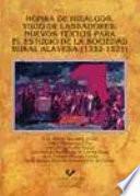 Libro de Honra De Hidalgos, Yugo De Labradores