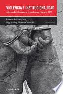 Libro de Violencia E Institucionalidad