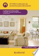 Libro de Confección De Accesorios Para Decoración. Tcpf0309