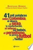 Libro de 41 Mil Palabras Sobre Colombia