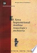 Libro de El área Septentrional Andina