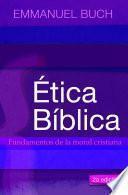Libro de Etica Biblica