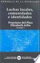 Libro de Luchas Locales, Comunidades E Identidades