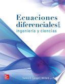 Libro de Ecuaciones Diferenciales Para Ingeniería Y Ciencias (1a. Ed.)