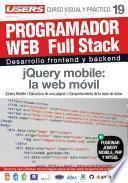 Libro de Programacion Web Full Stack 19   Jquery Mobile: La Web Móvil