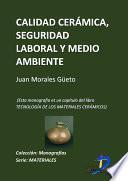Libro de Calidad Cerámica, Seguridad Laboral Y Medioambiente