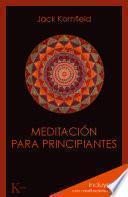 Libro de Meditación Para Principiantes