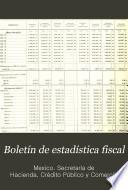 Libro de Boletín De Estadística Fiscal