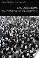 Libro de Las Izquierdas En Tiempos De Transición