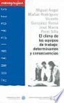 Libro de El Clima De Los Equipos De Trabajo: Determinantes Y Consecuencias