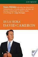 Libro de Es La Hora David Cameron