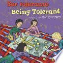 Libro de Ser Tolerante/being Tolerant