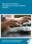 Libro de Uf0257   Aplicación De Sistemas Informáticos En El Bar Y Cafetería