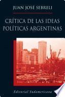Libro de Crítica De Las Ideas Políticas Argentinas