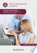 Libro de Planificación De La Auditoría. Adgd0108