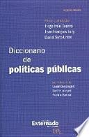 Libro de Diccionario De Políticas Públicas. Segunda Edición