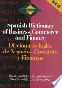 Libro de Diccionario Inglés De Negocios, Comercio Y Finanzas
