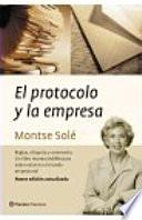 Libro de El Protocolo Y La Empresa