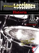 Libro de First Lessons Drumset