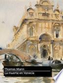 Libro de Muerte En Venecia