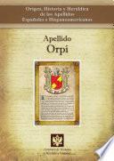Libro de Apellido Orpí