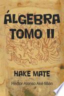 Libro de Álgebra