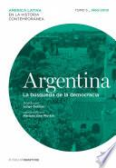 Libro de Argentina. La Búsqueda De La Democracia. Tomo 5 (1960 2000)