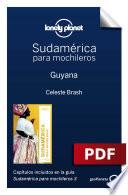 Libro de Sudamérica Para Mochileros 3. Guyana