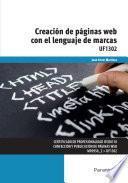 Libro de Uf1302   Creación De Páginas Web Con El Lenguaje De Marcas